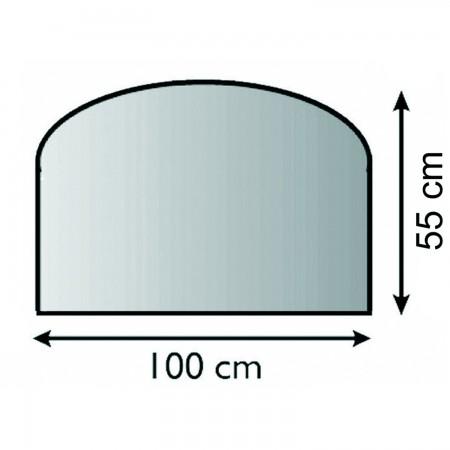 funkenschutzplatte g nstig online kaufen kaminofen xxl 2. Black Bedroom Furniture Sets. Home Design Ideas
